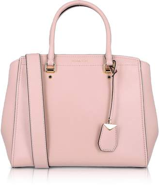 Michael Kors Soft Polished leather Benning Large Satchel Bag