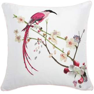 Ted Baker Bird Print Pillow