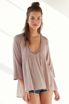 Kimchi Blue Maisie Babydoll Blouse $49 thestylecure.com