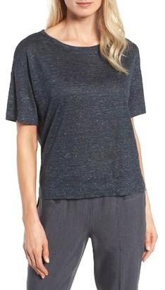 Women's Classiques Entier Linen Jersey Tee $129 thestylecure.com