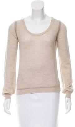 Chloé Merino Wool Scoop Neck Sweater