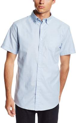 Lee Uniforms Men's Short Sleeve Oxford Shirt