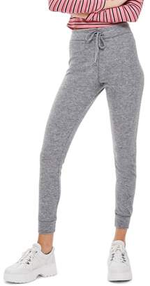 Topshop Brushed Super Skinny Jogger Pants