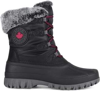 Cougar Cabot Insulated Faux Fur-Trim Waterproof Winter Boots