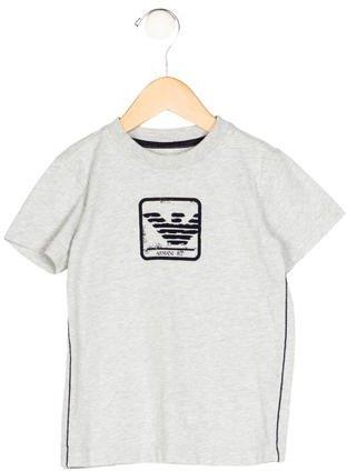 Armani JuniorArmani Junior Boys' Logo Short Sleeve Shirt