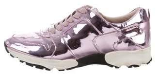 Carvela Metallic Low-Top Sneakers