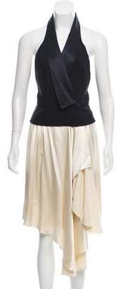 Alexander Wang Sleeveless Halter vest dress