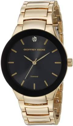Geoffrey Beene Men's Quartz Metal and Alloy Dress Watch, Color:Gold-Toned (Model: GB8087GDBK)