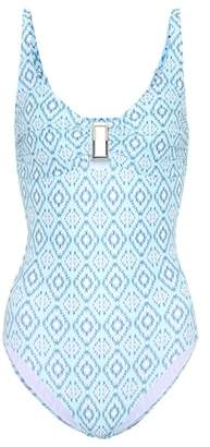 Melissa Odabash Tuscany printed swimsuit