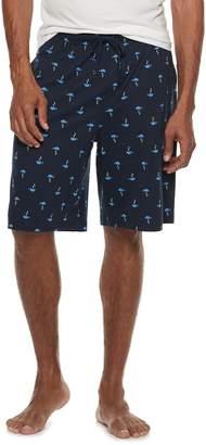 Croft & Barrow Men's Patterned Sleep Shorts
