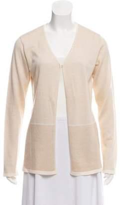 Agnona Cashmere & Silk-Blend Knit Cardigan