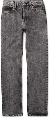 Balenciaga Acid-Washed Denim Jeans