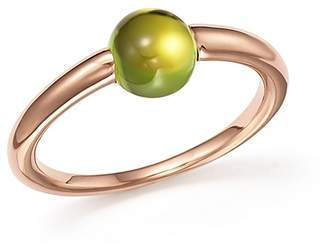 Pomellato M'Ama Non M'Ama Ring with Peridot in 18K Rose Gold