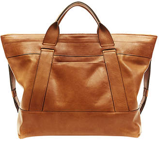 "Leather Tote ""Excursion Carry-All"""