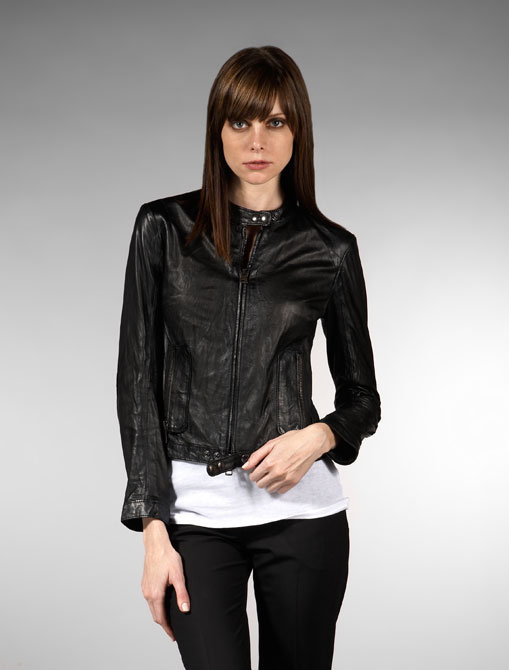 SWORD Volterra Classic Leather Jacket