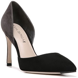Women's Via Spiga 'Ramona' Colorblock D'Orsay Pump $195 thestylecure.com