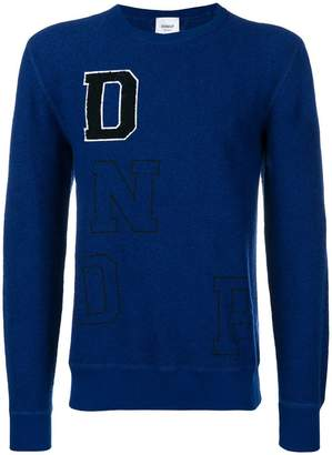 Dondup logo embroidered sweater