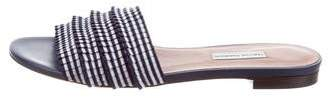Tabitha Simmons Pleated Slide Sandals w/ Tags