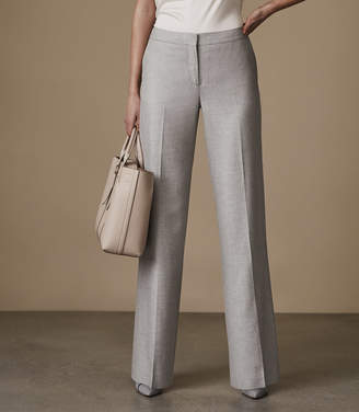 Reiss Estie Trouser Wide-Leg Trousers