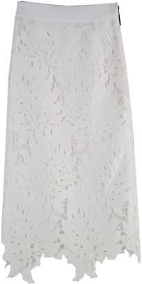 MSGM Lace Skirt Macrame Lace Pencil Skirt