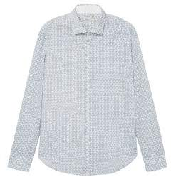 Mango Man MANGO MAN Slim-fit zebra-print shirt