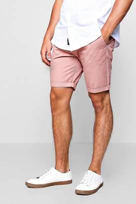 boohoo Skinny Fit Chino Shorts