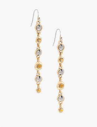 Lucky Brand PAVE LONG LINEAR EARRING