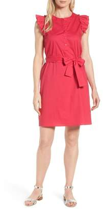 Gibson x Hi Sugarplum! Flamenco Ruffle Trim Dress