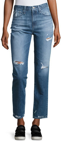 AG Jeans AG The Phoebe Vintage High-Waist Jeans, 17 Years Oasis