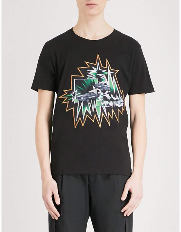 Versace Versus Logo-print cotton-jersey T-shirt