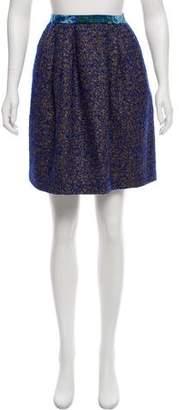 Peter Som Wool Knee-Length Skirt