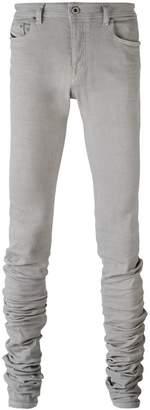 Diesel Black Gold extended leg skinny trousers