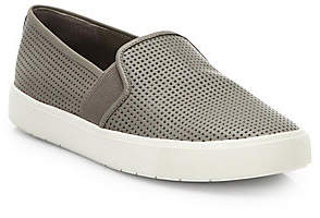 Vince Women's Blair Perforated Leather Slip-On Sneakers