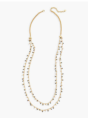 Talbots Pearl Layer Necklace