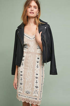 Maeve Embroidered Slip Dress