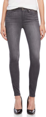 Paige Summit Grey Hoxton Ultra Skinny Jeans