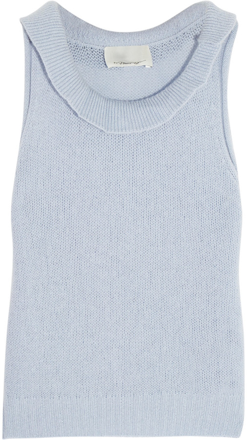 3.1 Phillip Lim 3.1 Phillip Lim Cropped wool-blend tank