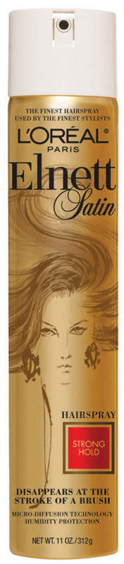 L'Oreal Elnett Satin Strong Hold Hair Spray