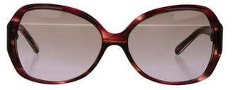 Tory Burch Oversize Gradient Sunglasses