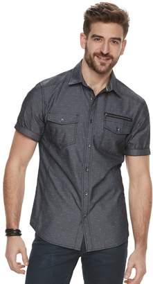 Rock & Republic Men's Chambray Button-Front Shirt