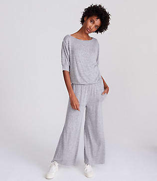 Lou & Grey Tucked Jumpsuit