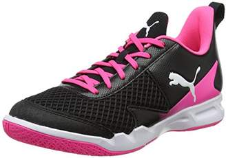 d2f78fc3706f Puma Women s s Rise XT 4 WN s Multisport Indoor Shoes Black White-Knockout  Pink