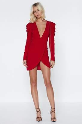 Nasty Gal Lady in Red Mini Dress