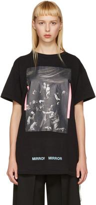 Off-White Black Caravaggio T-Shirt $300 thestylecure.com