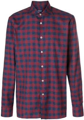 Borriello gingham check shirt