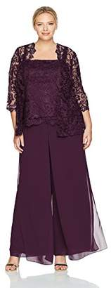 Emma Street Women's Plus Size Lace Suit Combo