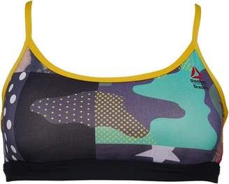 Reebok Womens CrossFit Strappy Sports Bra Collegiate Navy