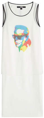 Karl Lagerfeld X Steven Wilson Printed Sleeveless Top
