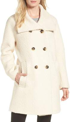 London Fog Cozy Wool Blend Coat
