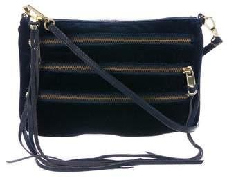 Rebecca Minkoff 3-Zip Rocker Crossbody Bag